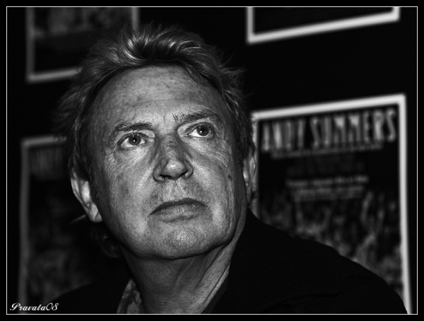 Andy Summers, by Charles Pravata