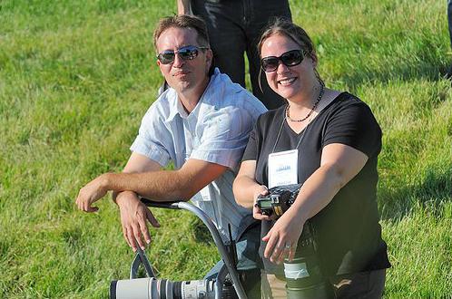 Charles Pravata and Sarah Andrew