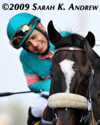 Zenyatta and Mike Smith