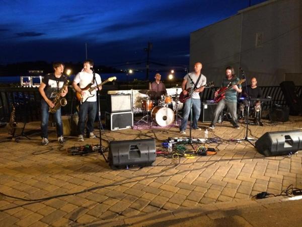 Men of Rock, performing in 2014